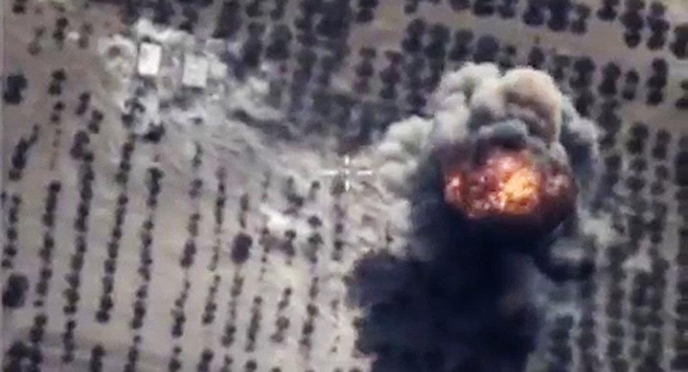 Naloty rosyjskich sił powietrznych w Syrii