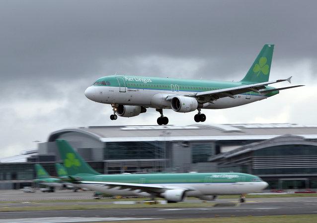 Samolot linii lotniczych Aer Lingus