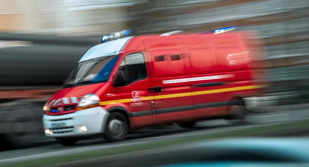 Wypadek we Francji