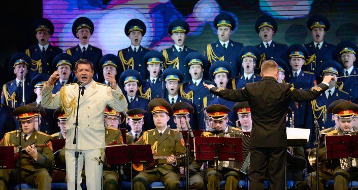 Występ Chóru Aleksandrowa