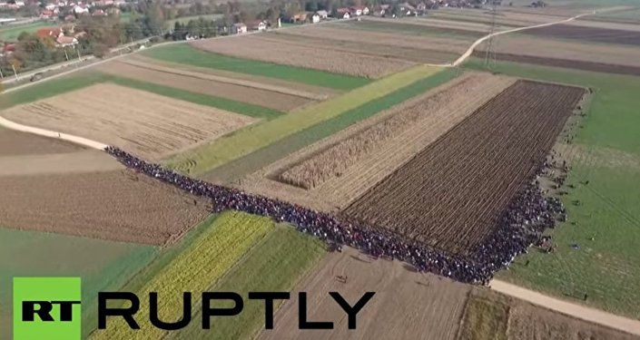 Migranci w Słowenii