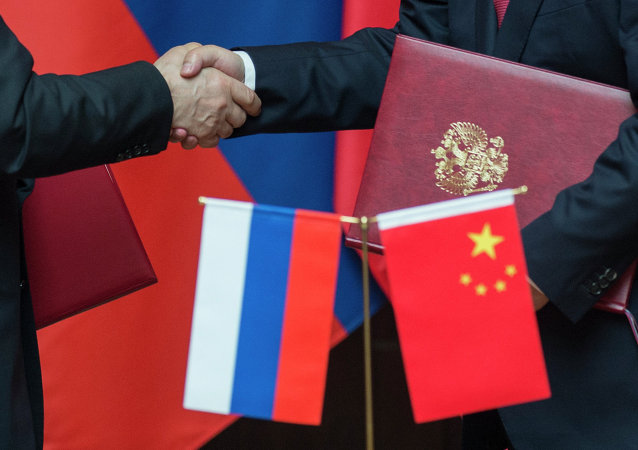 Władimir Putin podczas oficjalnej wizyty w Chinach
