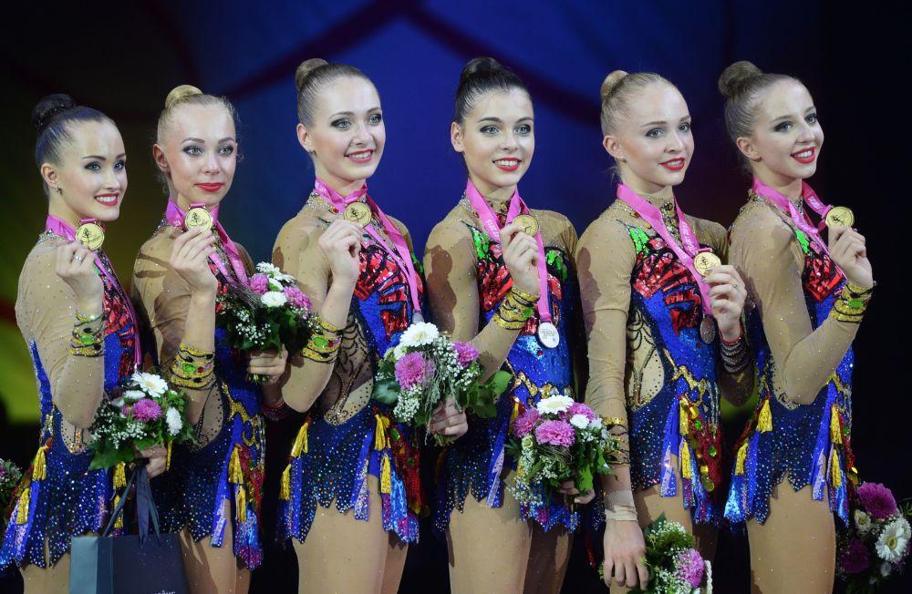 Rosyjskie gimnastki zdobyły złote medale na Mistrzostwach Świata w gimnastyce artystycznej w Stuttgarcie