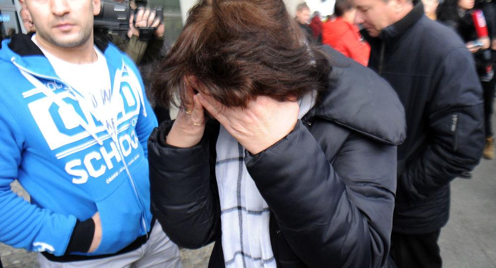 Krewni ofiar na lotnisku Pułkowo