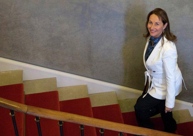 Francuska minister ekologii, trwałego rozwoju i energii Ségolène Royal