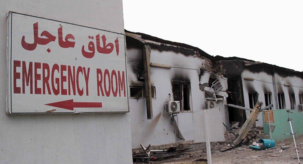 Szpital organizacji Lekarze bez Granic w Kunduzie, 16 X 2015 r.