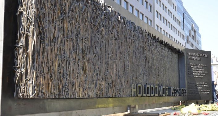 Hołodomor, memoriał w Waszyngtonie