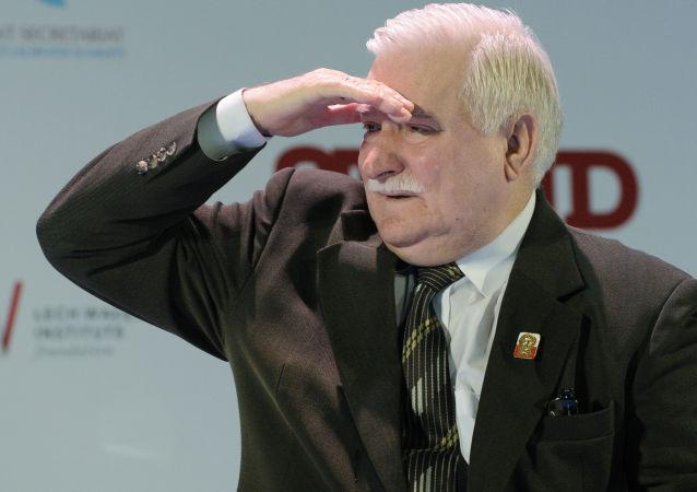 Były prezydent RP, Lech Wałęsa