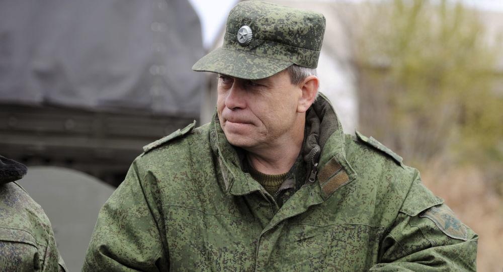 Wiceszef sztabu powstańców Donieckiej Republiki Ludowej Eduard Basurin