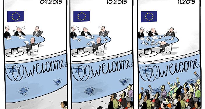 Witamy uchodźców w UE!