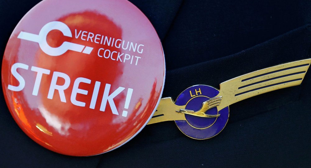 Strajk Lufthansa 30 listopada 2014 roku