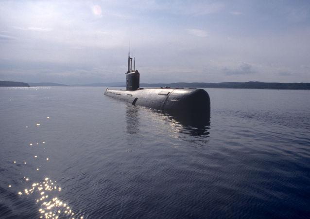 Okręt podwodny klasy Warszawianka Floty Północnej