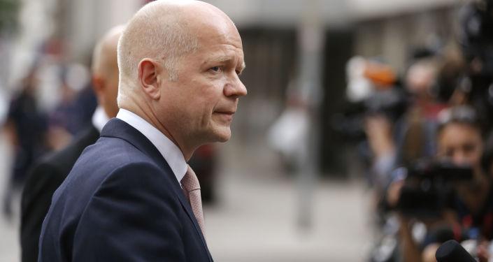 Były Minister Spraw Zagranicznych Wielkiej Brytanii i lider Partii Konserwatywnej William Hague