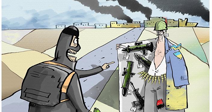 Ukraina sprzedaje broń dla PI?