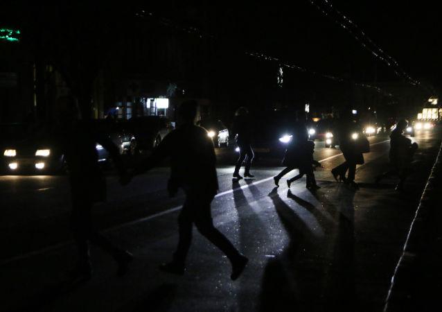 Pozbawiony prądu Symferopol