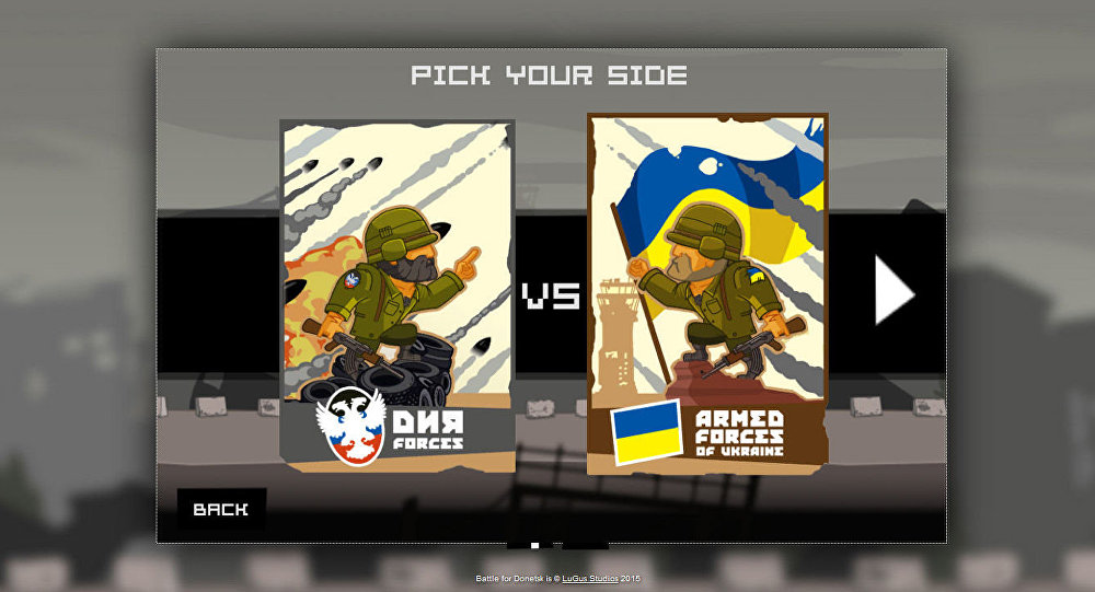 Gra komputerowa Bitwa o Donieck