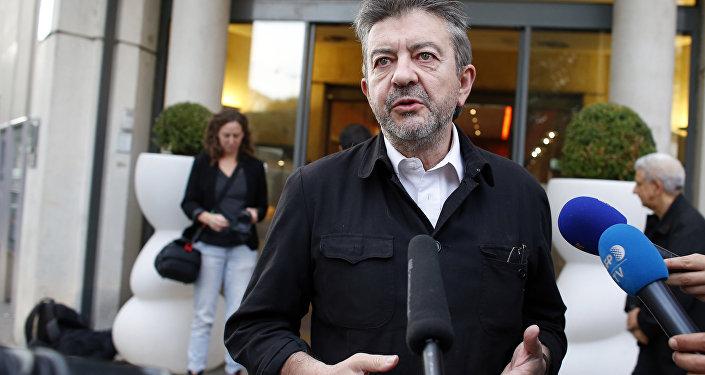 Poseł do Parlamentu Europejskiego Jean-Luc Mélenchon