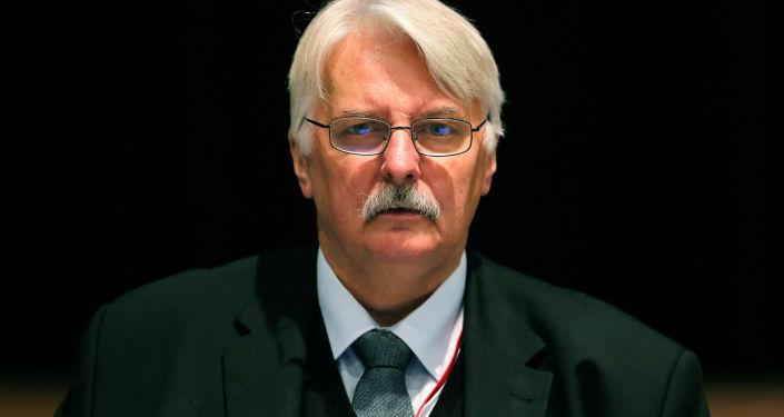 Witold Waszczykowski przemawia w NATO