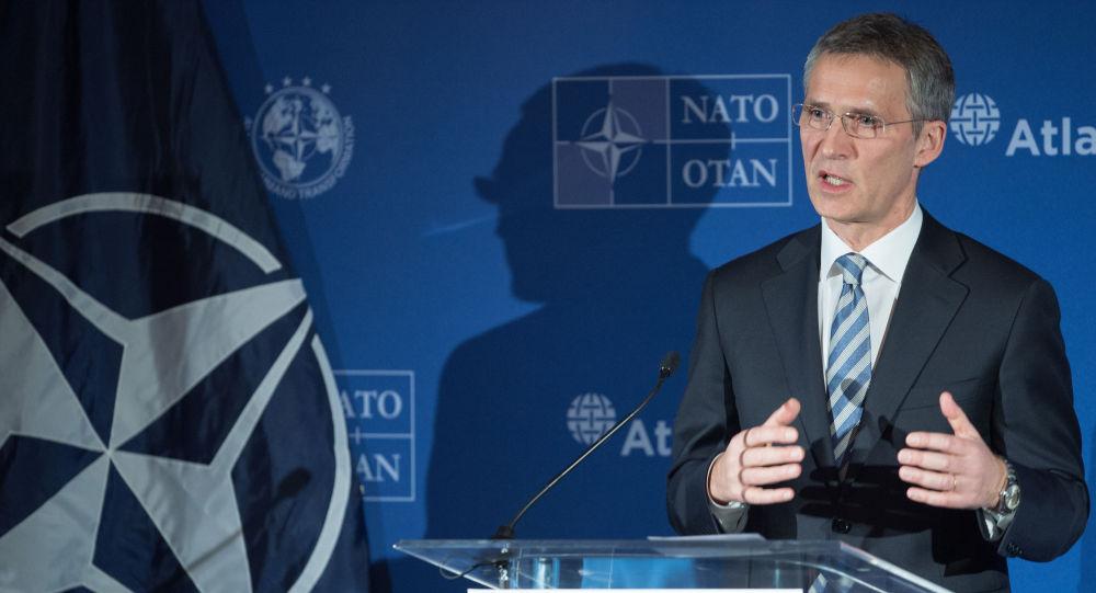 Sekretarz generalny NATO Jens Stolenberg