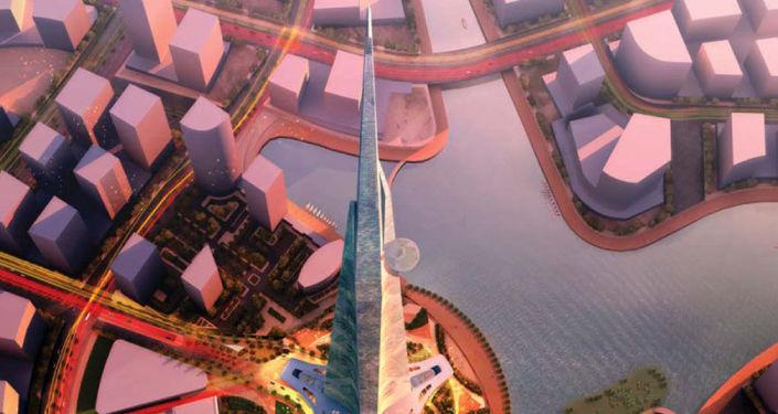 Projekt wieżowca Jeddah Tower w Arabii Saudyjskiej