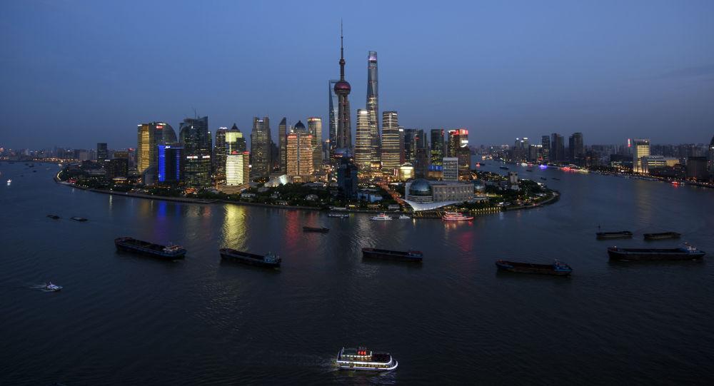 Wieżowiec w Szanghaju