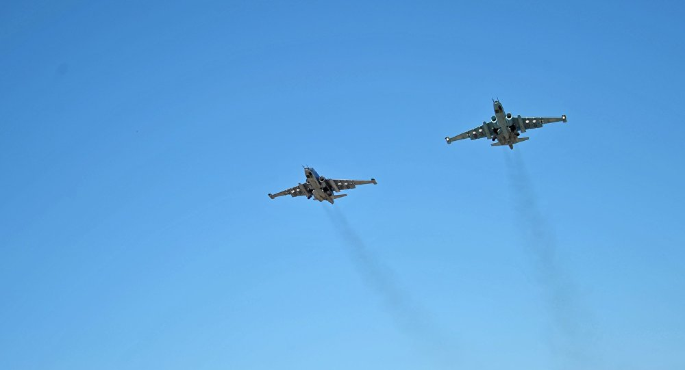 Samoloty RF w Syrii