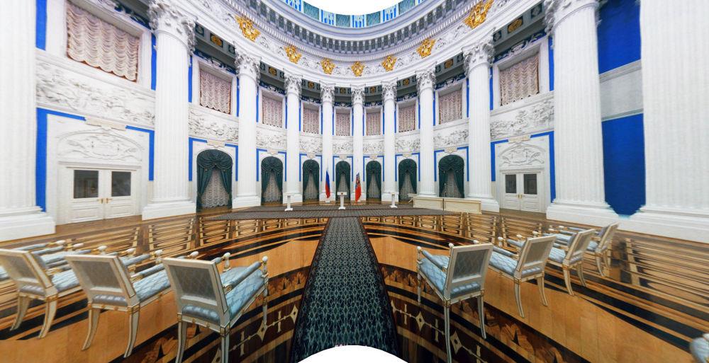 Sala Jekateryninska Pałacu Senackiego w Kremlu