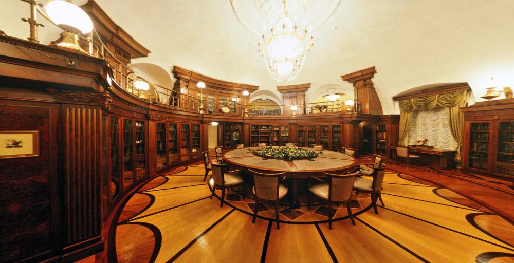 Prezydencka biblioteka Pałacu Senackiego w Kremlu
