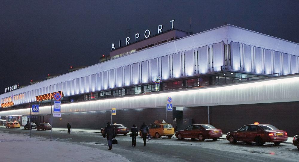 Lotnisko Pułkowo, Petersburg.