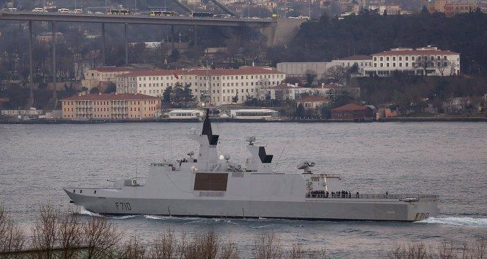 Francuska fregata z wyrzutniami kierowanych pocisków rakietowych La Fayette