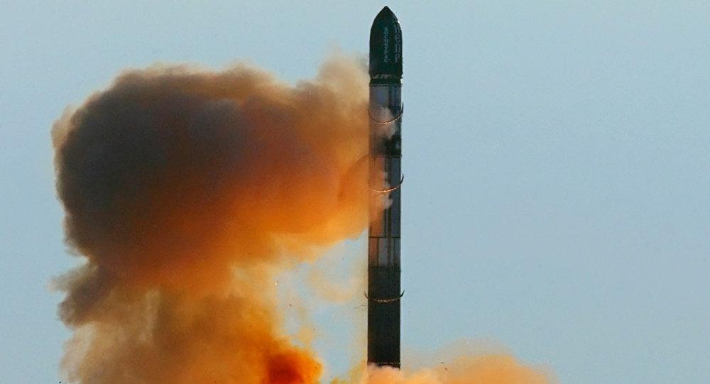 Start rakiety RS-20