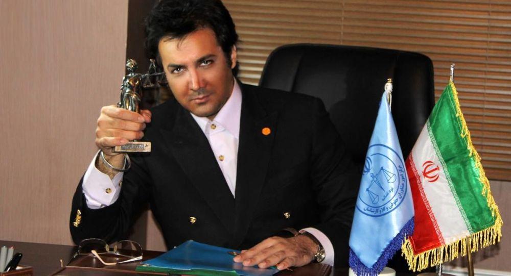 Irański aktor Hesam Navab Safavi