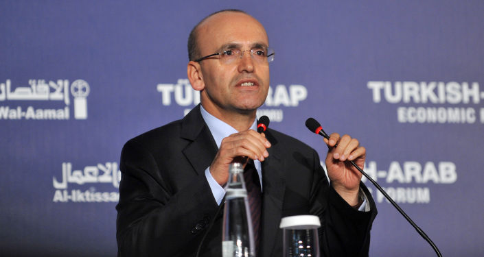 Wicepremier Turcji Mehmet Şimşek