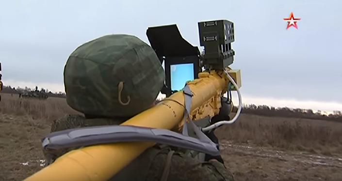 Rosyjski przenośny przeciwlotniczy zestaw rakietowy Wierba