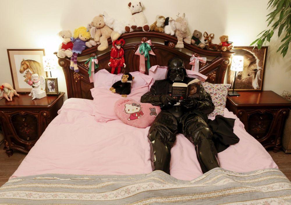 Tak wygląda sypialnia dowódcy armii Imperium Galaktycznego w Odessie.
