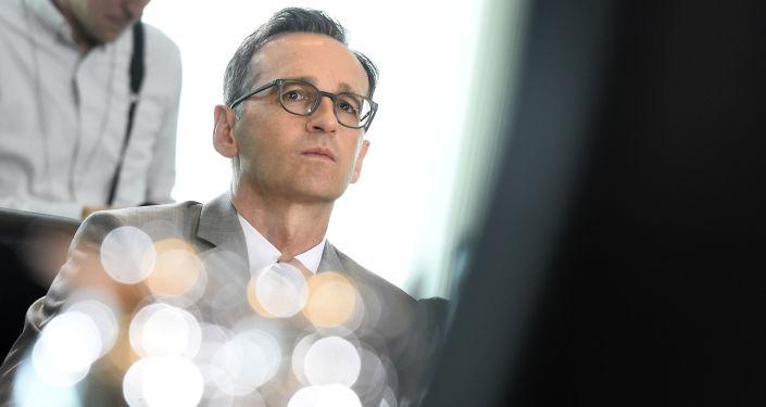 Minister sprawiedliwości Niemiec Heiko Maas