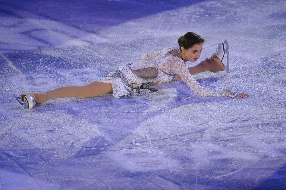 Rosjanka Jewgienija Miedwiediewa podczas Grand Prix w Barcelonie