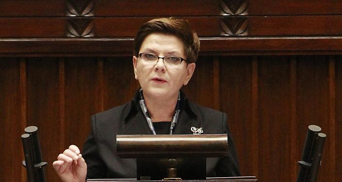 Premier Polski Beata Szydło