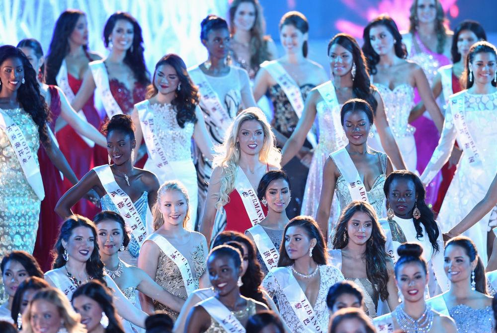 Uczestniczki konkursu Miss World 2015 w Chinach.
