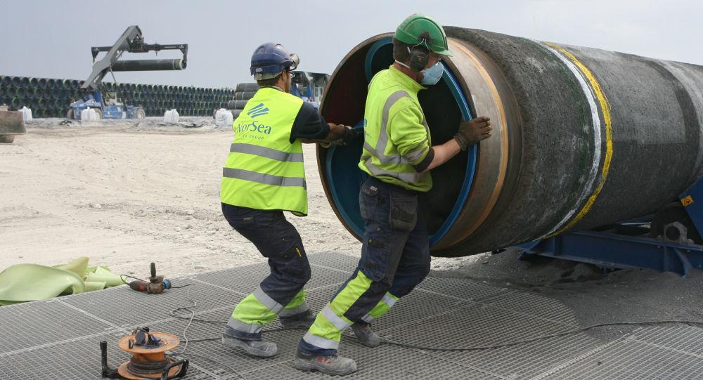 Budowa Gazociągu Północnego