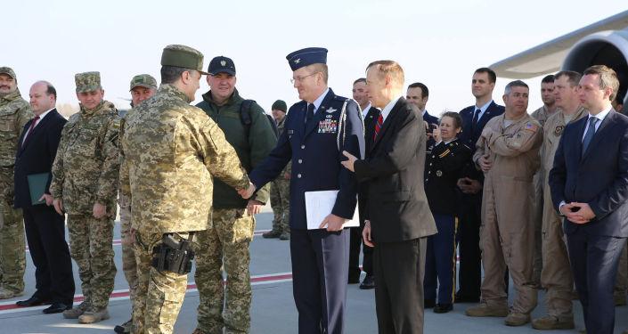 Poroszenko przyszedł z bronią na spotkanie z przedstawicielami USA