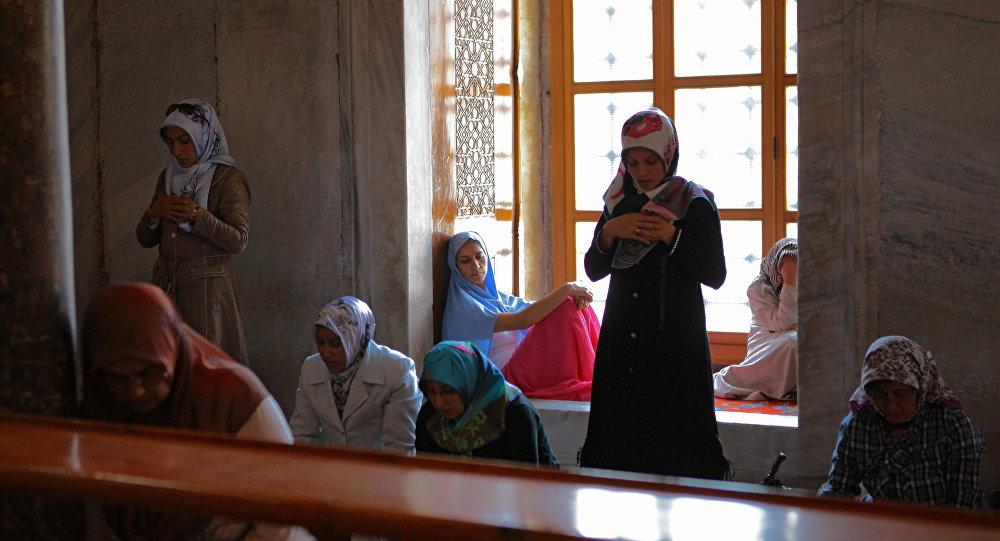 Kobiety w meczecie