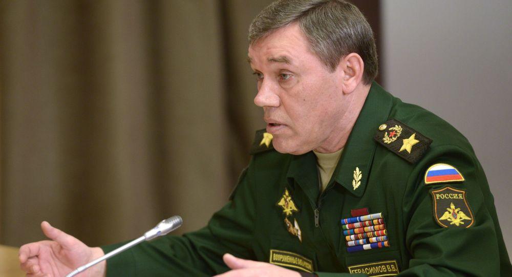 Szefa Sztabu Generalnego Sił Zbrojnych Rosji Walerij Gierasimow