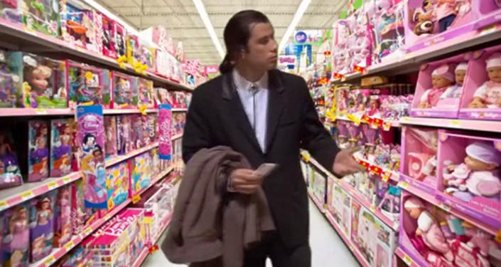 Bezradny John Travolta podbił internet!