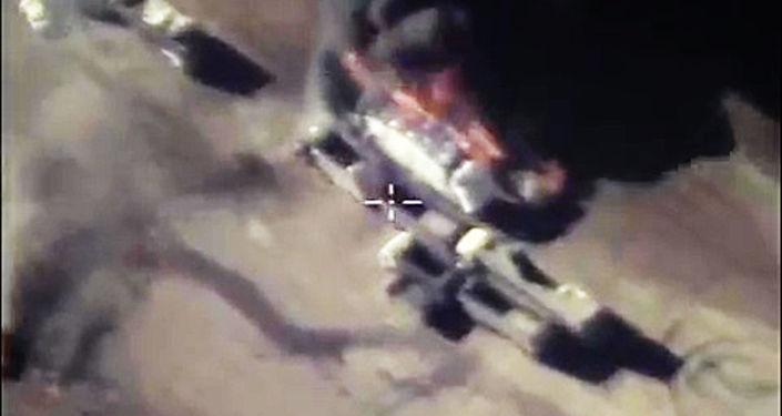 Rosyjska operacja powietrzna w Syrii