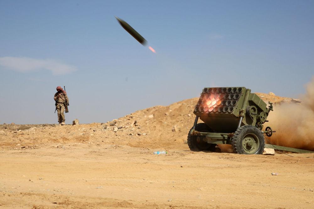 Wyrzutnia rakietowa Organizacji Jemeńskiego Oporu Rewolucyjnego