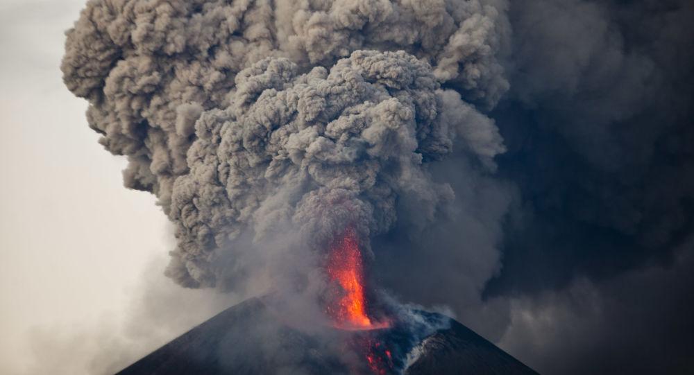 Erupcja wulkanu Momotombo