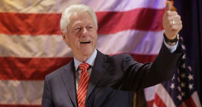 Były prezydent Stanów Zjednoczonych Bill Clinton