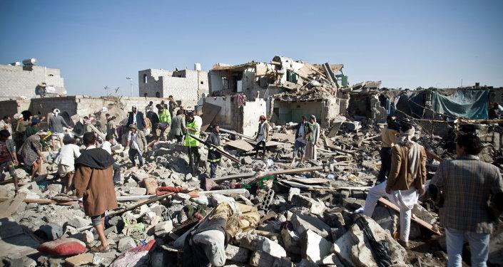 Lotnisko w Sanie, Jemen