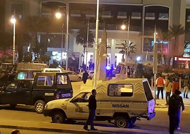 Atak na hotel w Hurghadzie